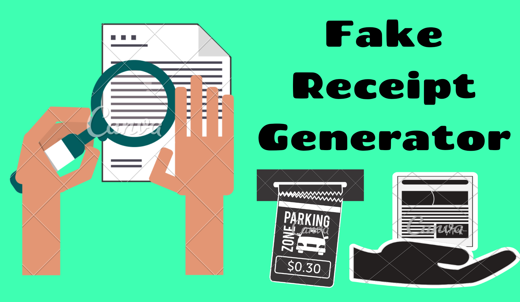 Best Fake Receipt Maker/Generator With Date Tools Online 2019