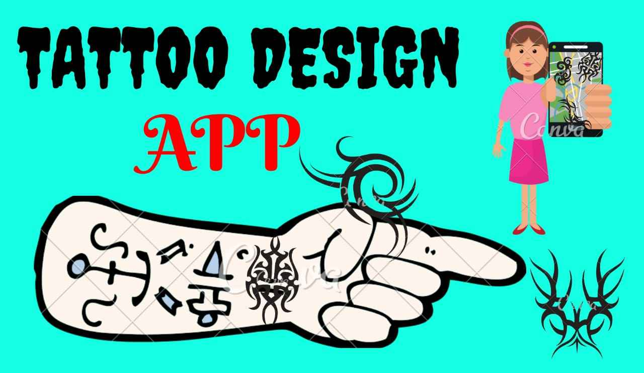 Best Tattoo Design Apps Android and iPhone 2019