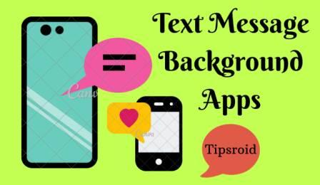 Text Message Background Apps
