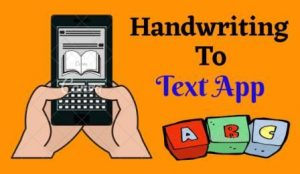 Best Handwriting to Text Apps