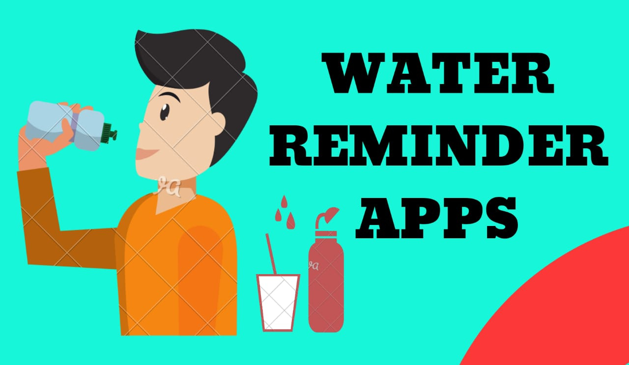 water reminder apps