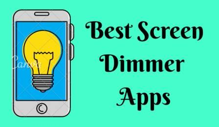 screen dimmer apps