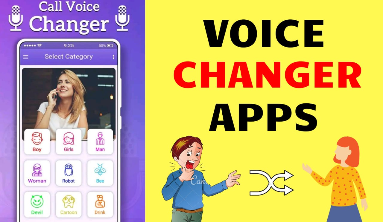 Male to Female Voice Changer Apps