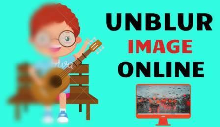 Unblur Image