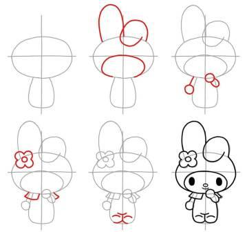 easy drawings step by step