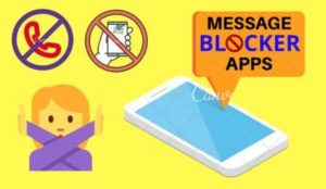 Message Blocker App