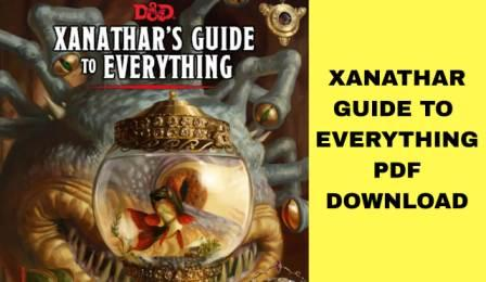 Xanathar's Guide To Everything PDF