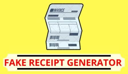 how to make a reciept