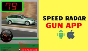 Speed Radar Gun App