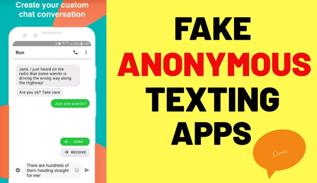 Anonymous Texting Apps
