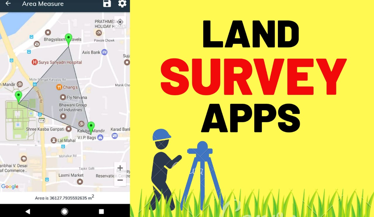 GPS Land Survey Apps