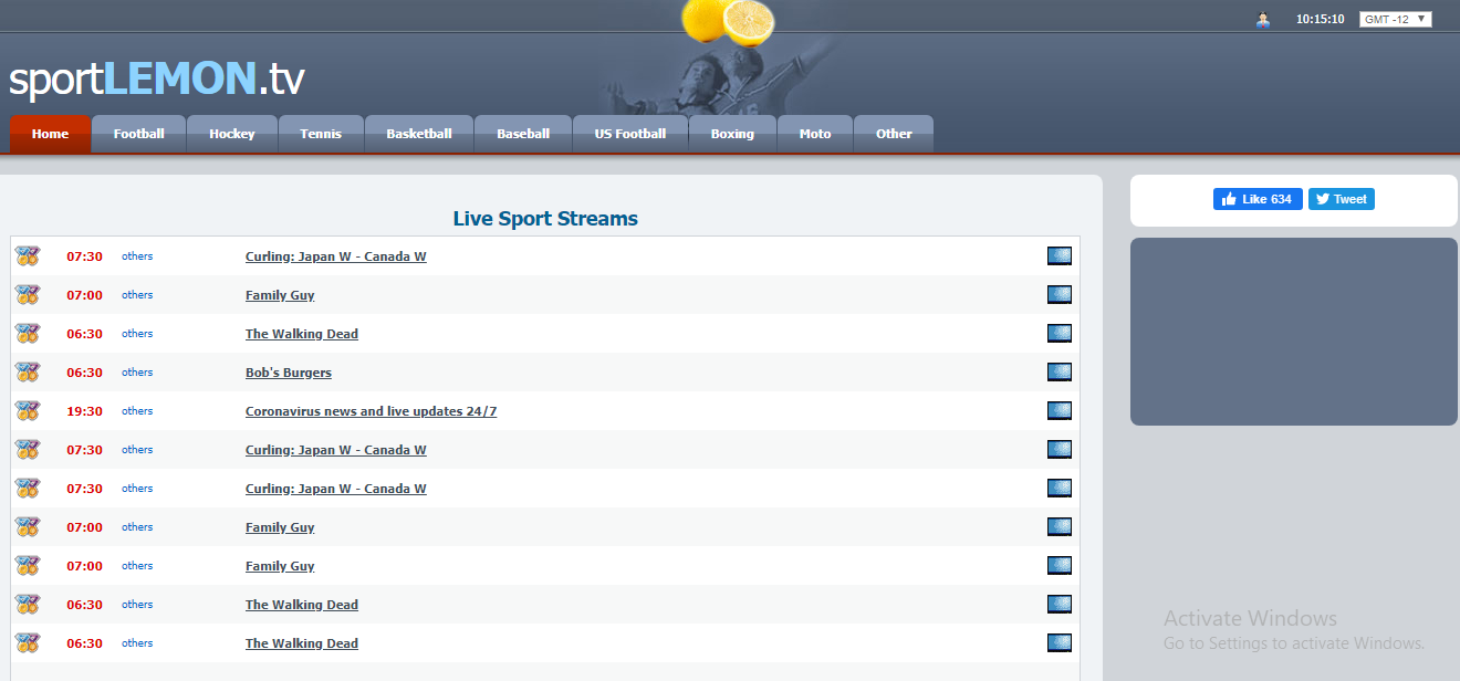 watch live sports free streaming