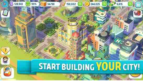 Town Building Game