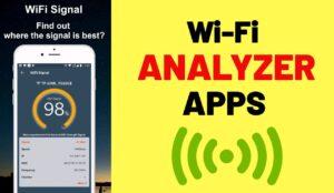 WiFi Analyzer Apps