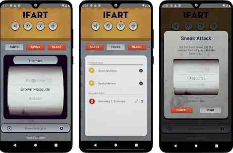 Fart Sounds Prank App