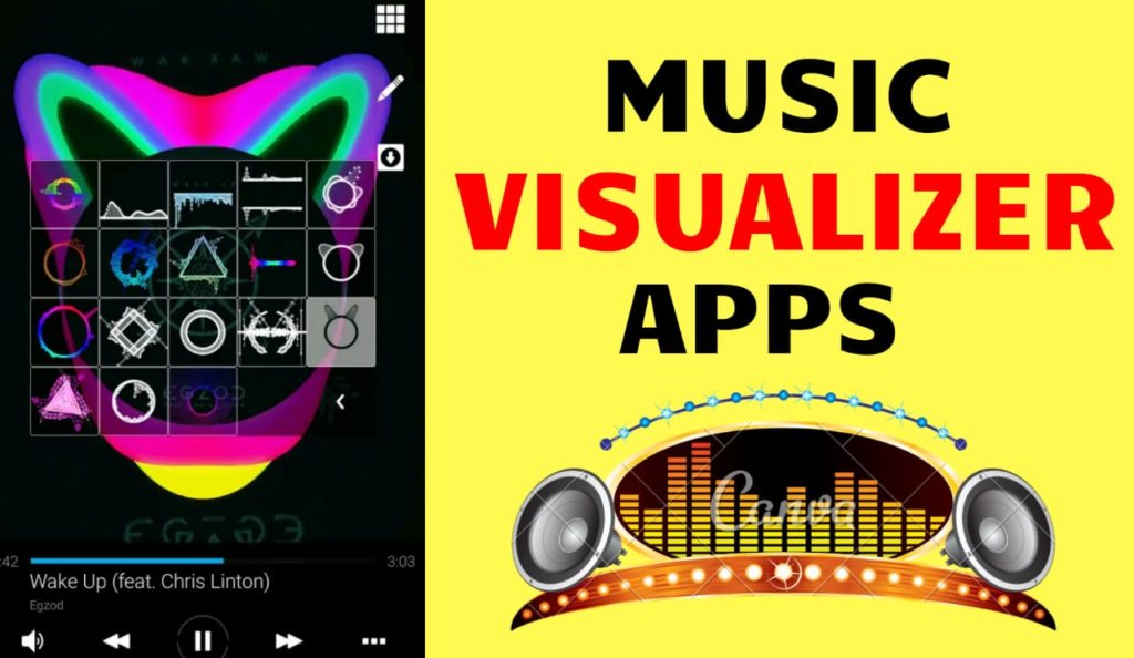 Music Visualizer App