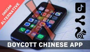 Boycott Chinese App