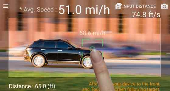 speed radar gun app
