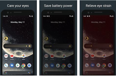app to dim screen