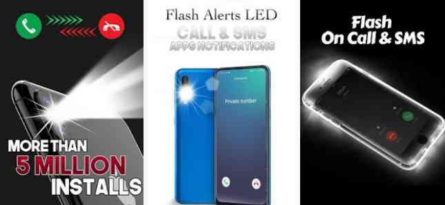 flashlight notification android