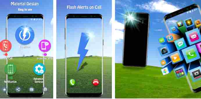 flashlight notification app for android