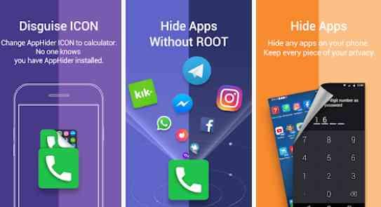 hide app hide application icon