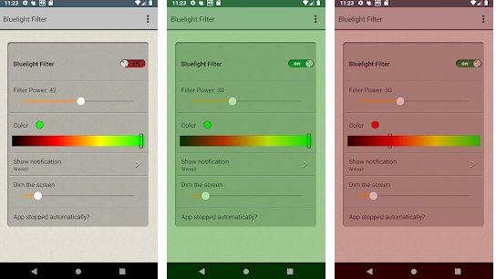 screen darkening app