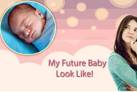 app to see what your baby looks like