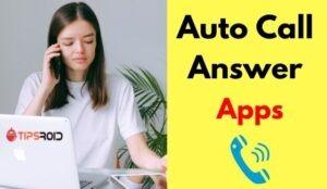 auto call answer app