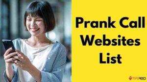 Prank Call Websites List