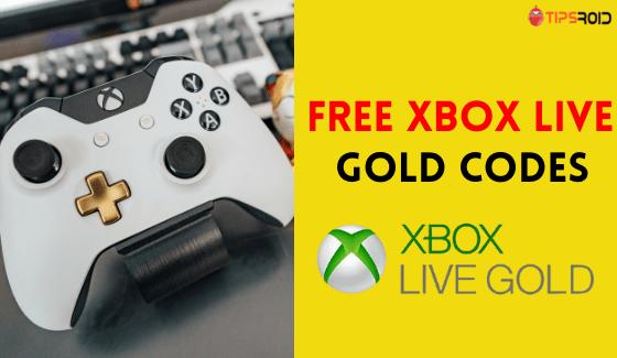 free xbox live codes that work