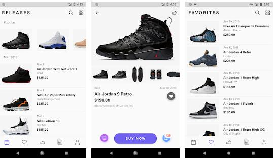 shoes shopping apps