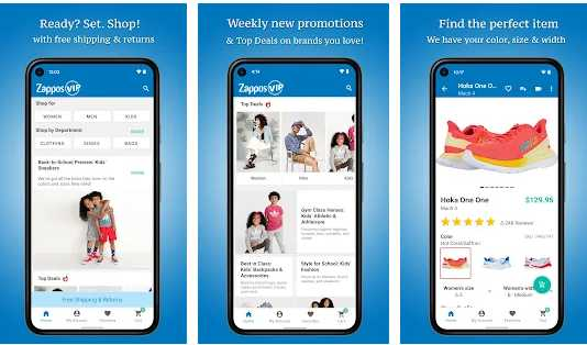 Buying Shoes Apps