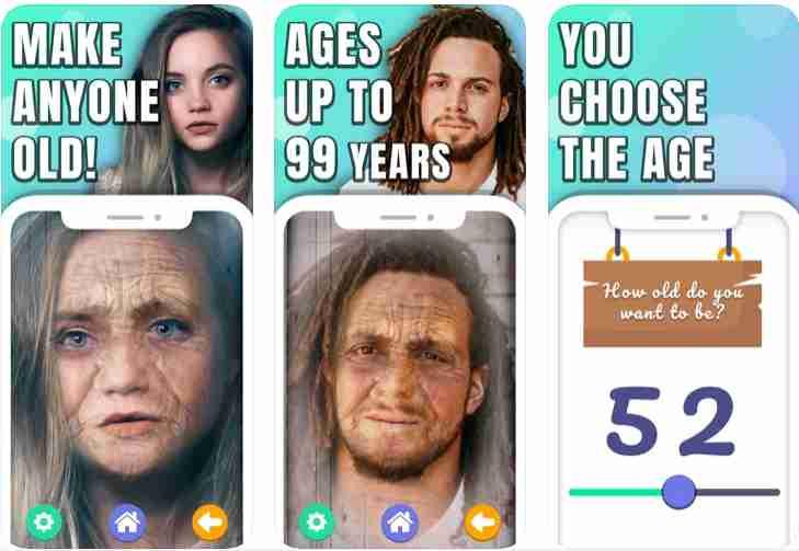 age progressed photo app