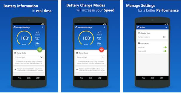 charge phone faster app