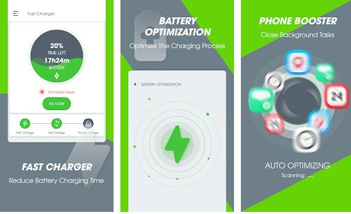 fast battery charging apps