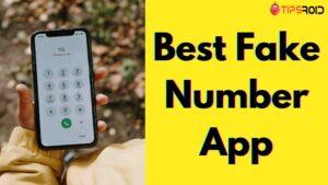 Fake Number App