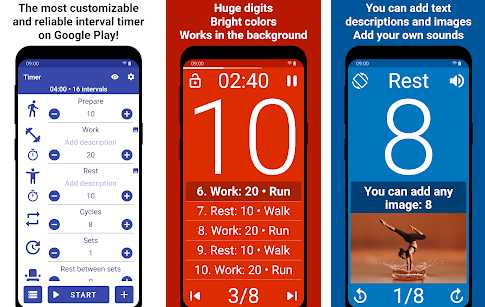 interval training app android