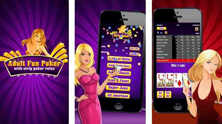 strip poker app for iphone
