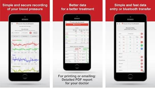lood pressure app android free