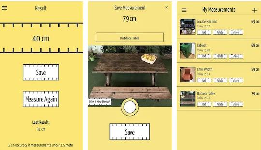 room measuring app android